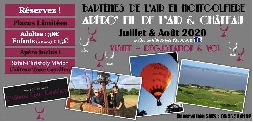 Osez la montgolfière au Château Tour Castillon